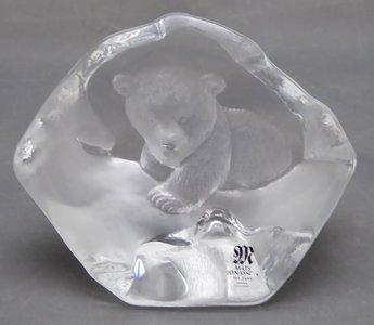 MATS JONASSON GLAS SCULPTUUR
