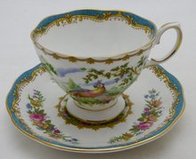 ROYAL ALBERT CHELSEA BIRD KOP EN SCHOTEL